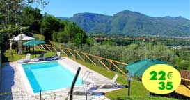 Barga: Casale rurale con piscina ULV